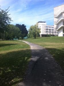 הקמפוס של אוניברסיטת בורגון.